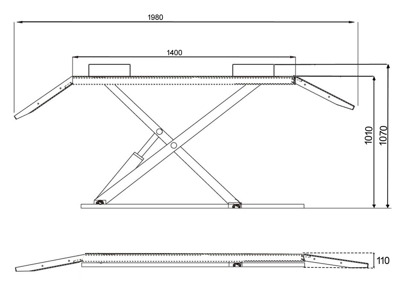 scherenhebeb hne hebeb hne elektrisch hydraulische. Black Bedroom Furniture Sets. Home Design Ideas